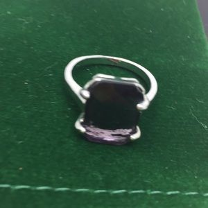Jewelry - Sterling silver color changing alexandrite ring